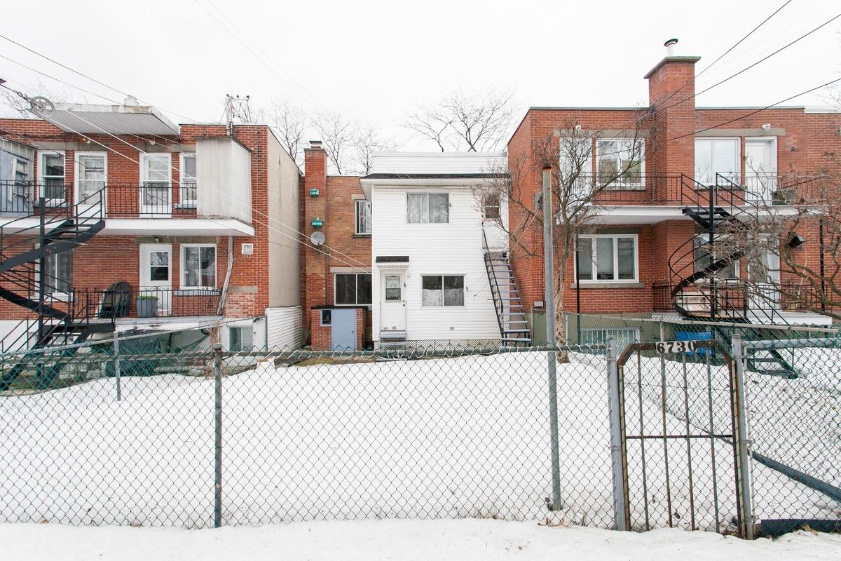 Façade extérieure - Duplex à vendre Montréal Rosemont / La Petite-Patrie