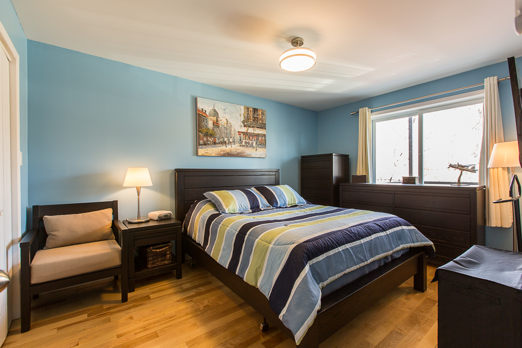 Chambre à coucher - Condo à vendre Montréal Mercier / Hochelaga-Maisonneuve