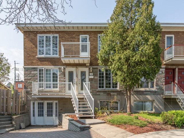 Façade - Maison à vendre Montréal Mercier / Hochelaga-Maisonneuve