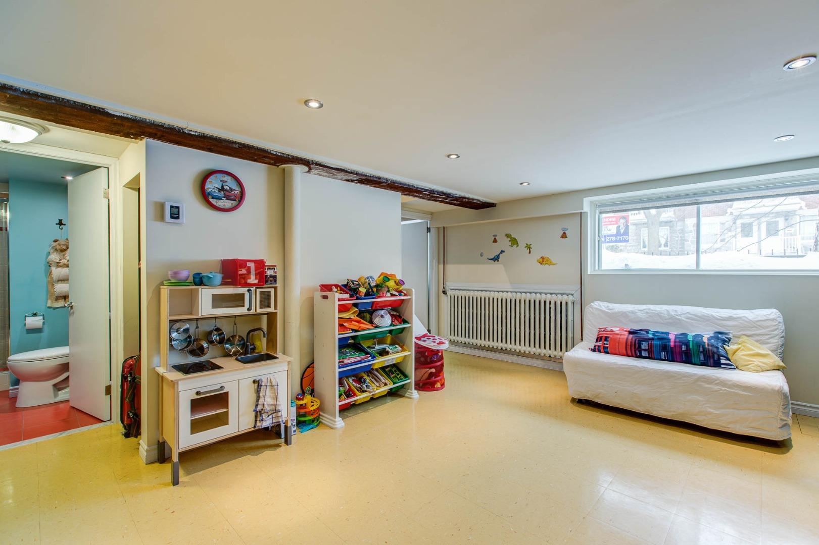 Triplex à vendre Montréal Rosemont / La Petite Patrie - Salle familiale