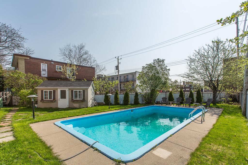 Maison à vendre Montréal Mercier / Hochelaga-Maisonneuve - Cour / piscine creusée