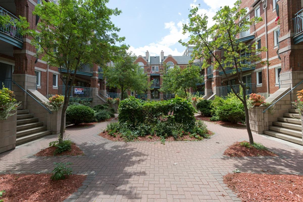 Condo à vendre Montréal Le Plateau Mont-Royal / Mile-end - Cour intérieure