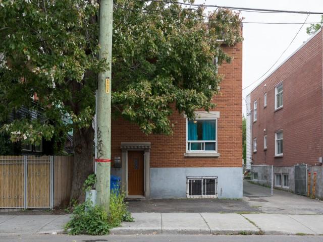 Duplex à vendre Montréal Verdun - Façade
