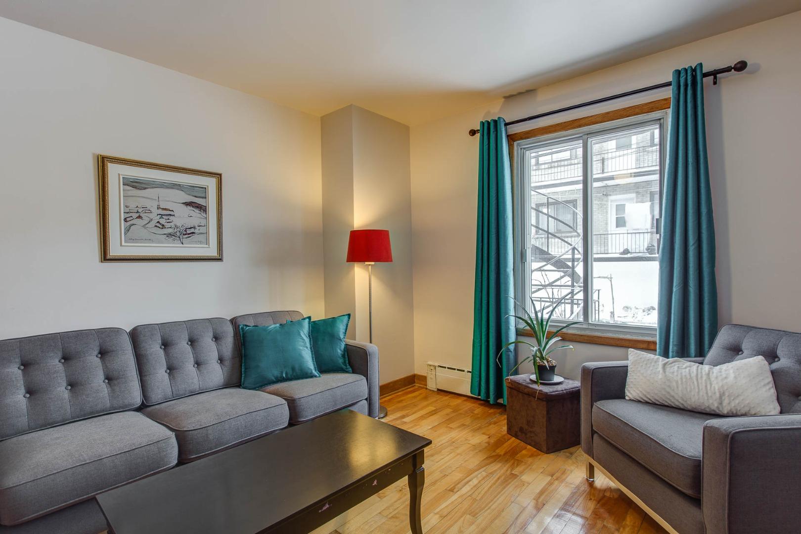 Triplex à vendre Montréal Rosemont / La Petite Patrie - Salon