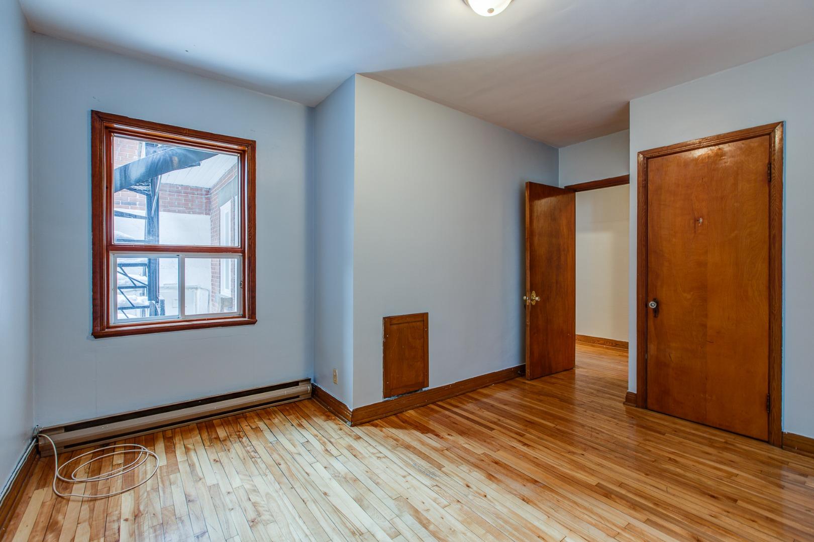 Duplex à vendre Montréal Mercier-Hochelaga-Maisonneuve - Chambre à coucher