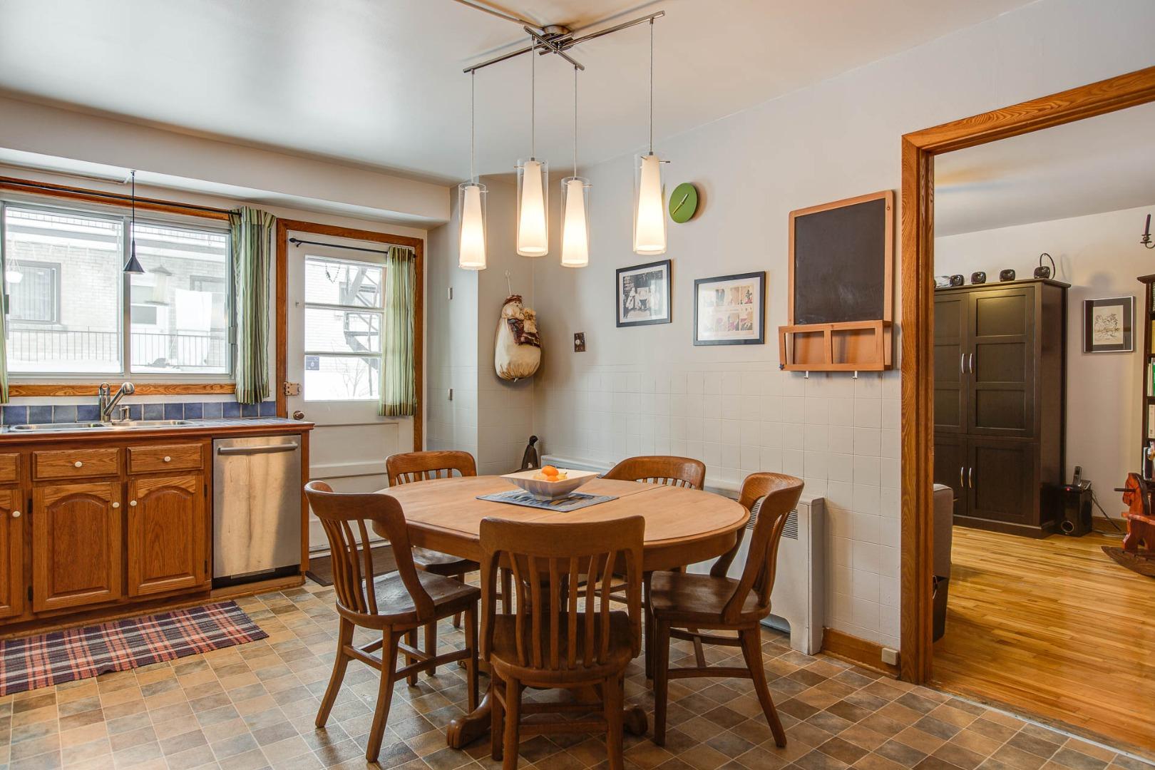 Triplex à vendre Montréal Rosemont / La Petite Patrie - Cuisine