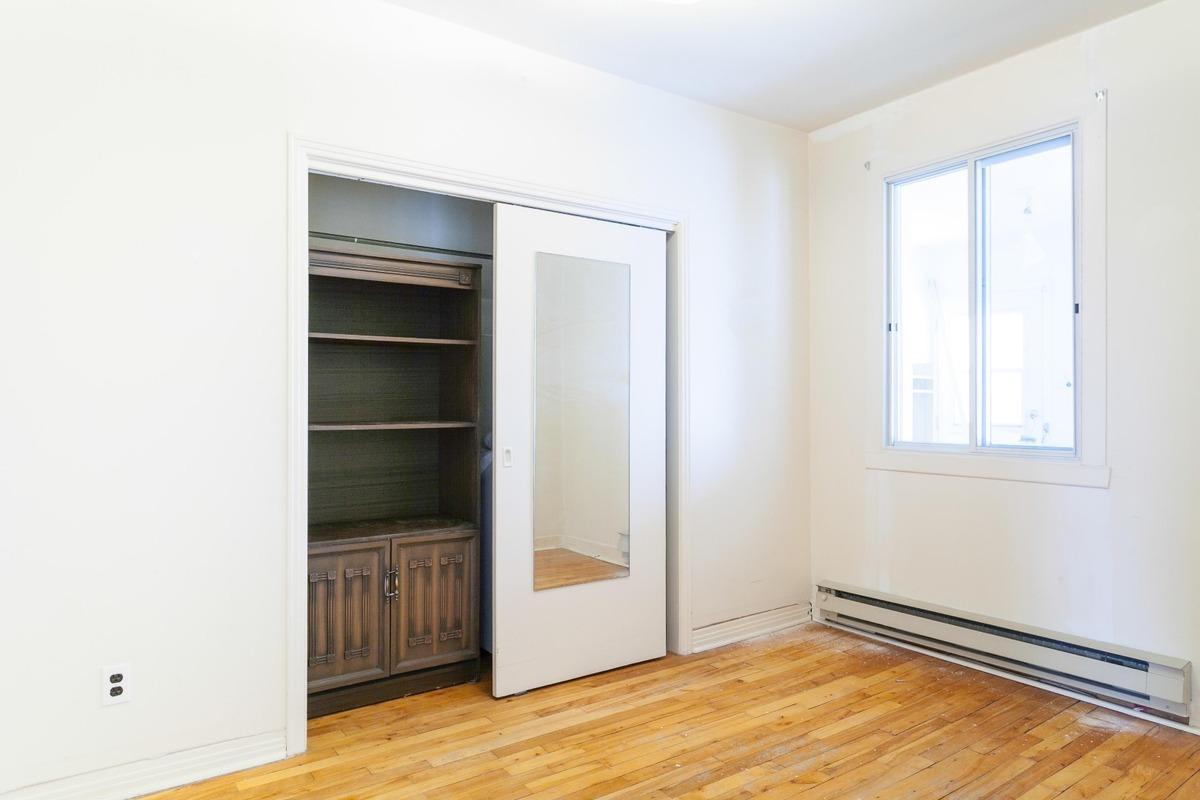 Chambre à coucher - Duplex à vendre Montréal Rosemont / La Petite-Patrie
