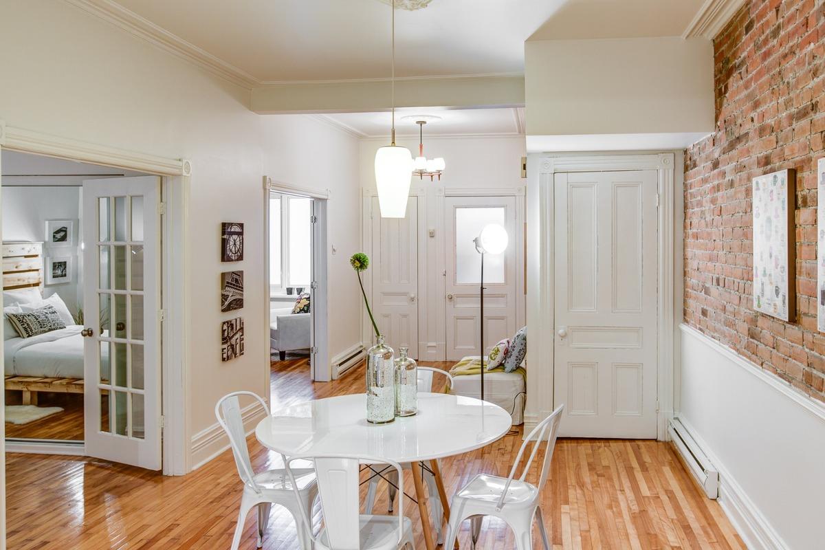 Condo à vendre Montreal Le Plateau Mont-Royal - Salle à manger