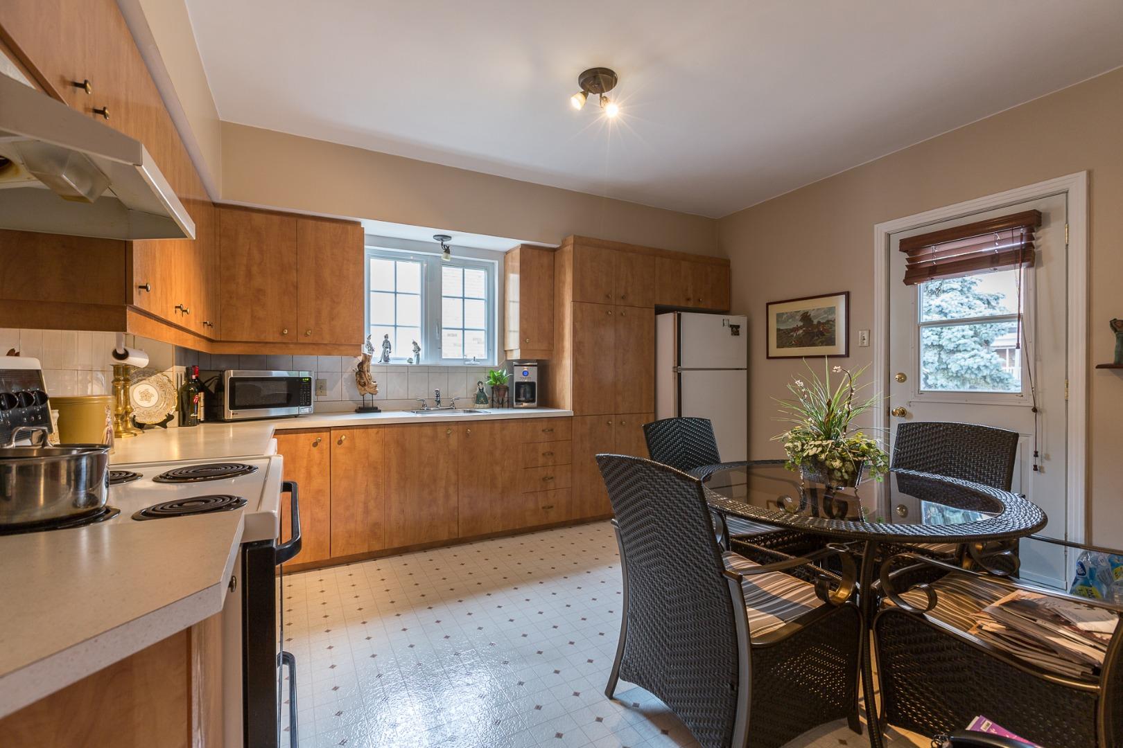 Duplex à vendre Montréal Ahuntsic-Cartierville-Nouveau Bordeaux - Cuisine
