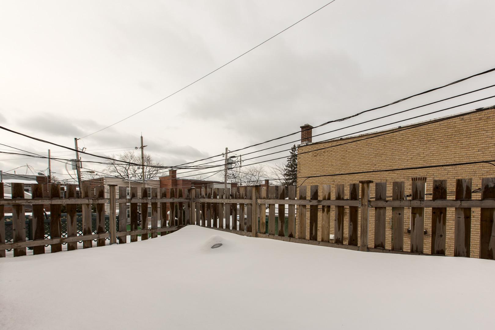 Duplex à vendre Montréal Mercier-Hochelaga-Maisonneuve - Terrasse