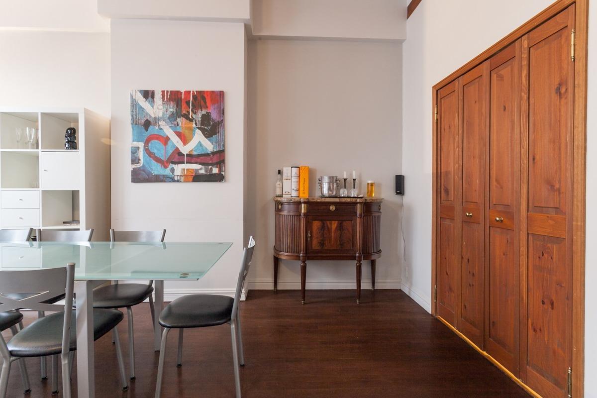 Salle à manger - Condo à vendre Plateau Mont-Royal