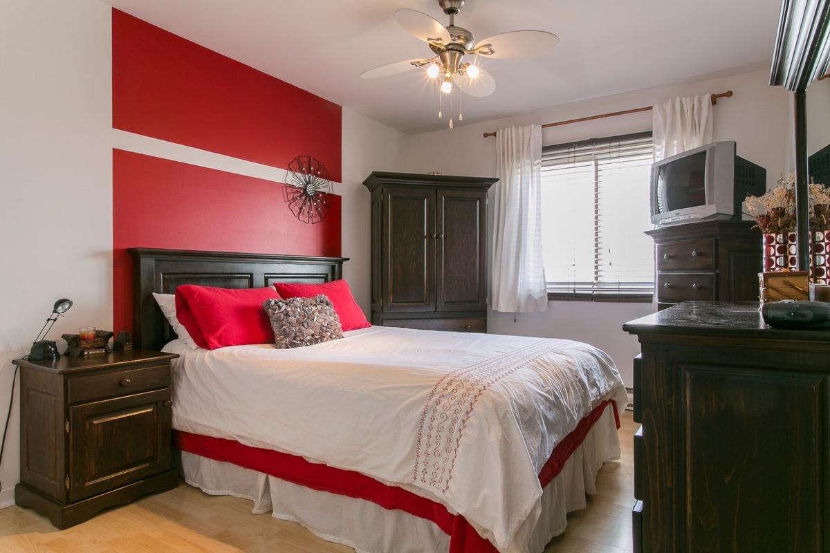 Chambre à coucher - Condo à vendre Pointe-aux-trembles