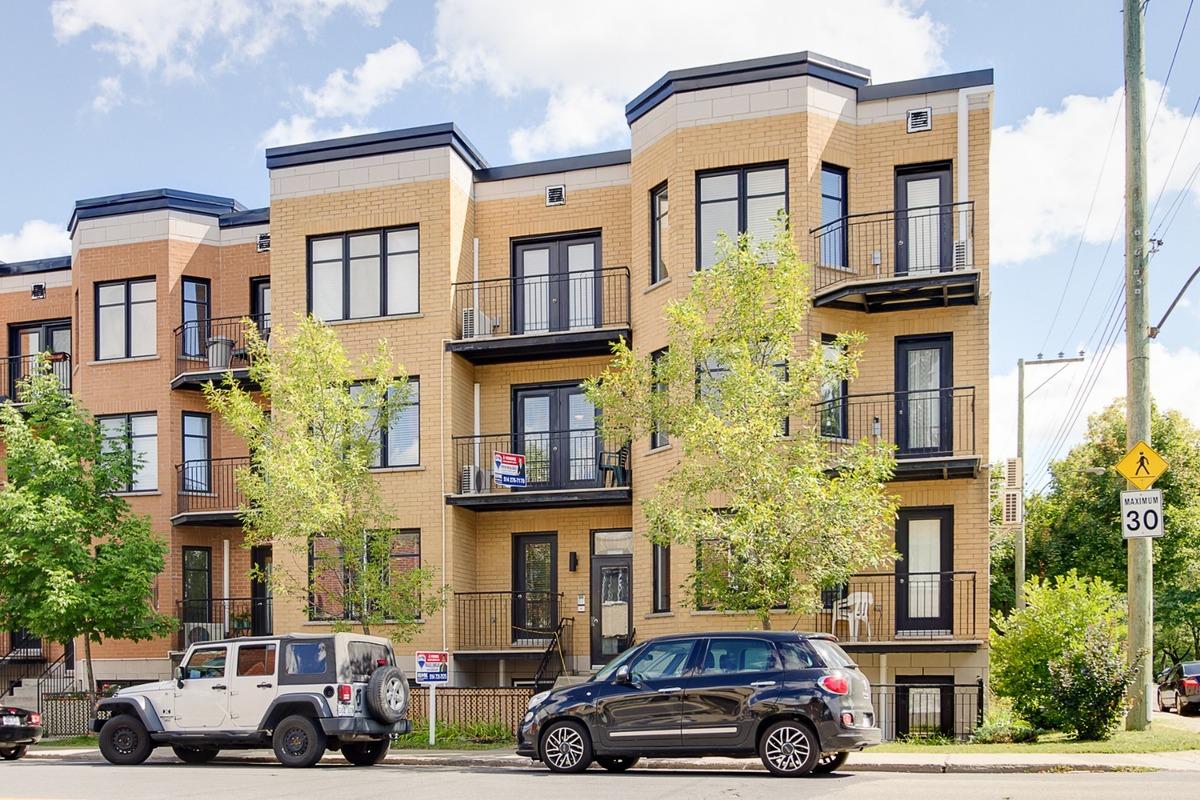 Condo à vendre Montréal Rosemont / La Petite-Patrie - Façade