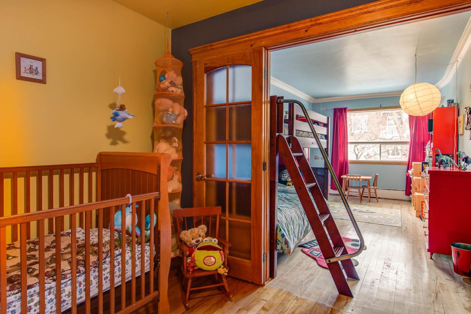 Triplex à vendre Montréal Rosemont / La Petite Patrie - Chambre à coucher