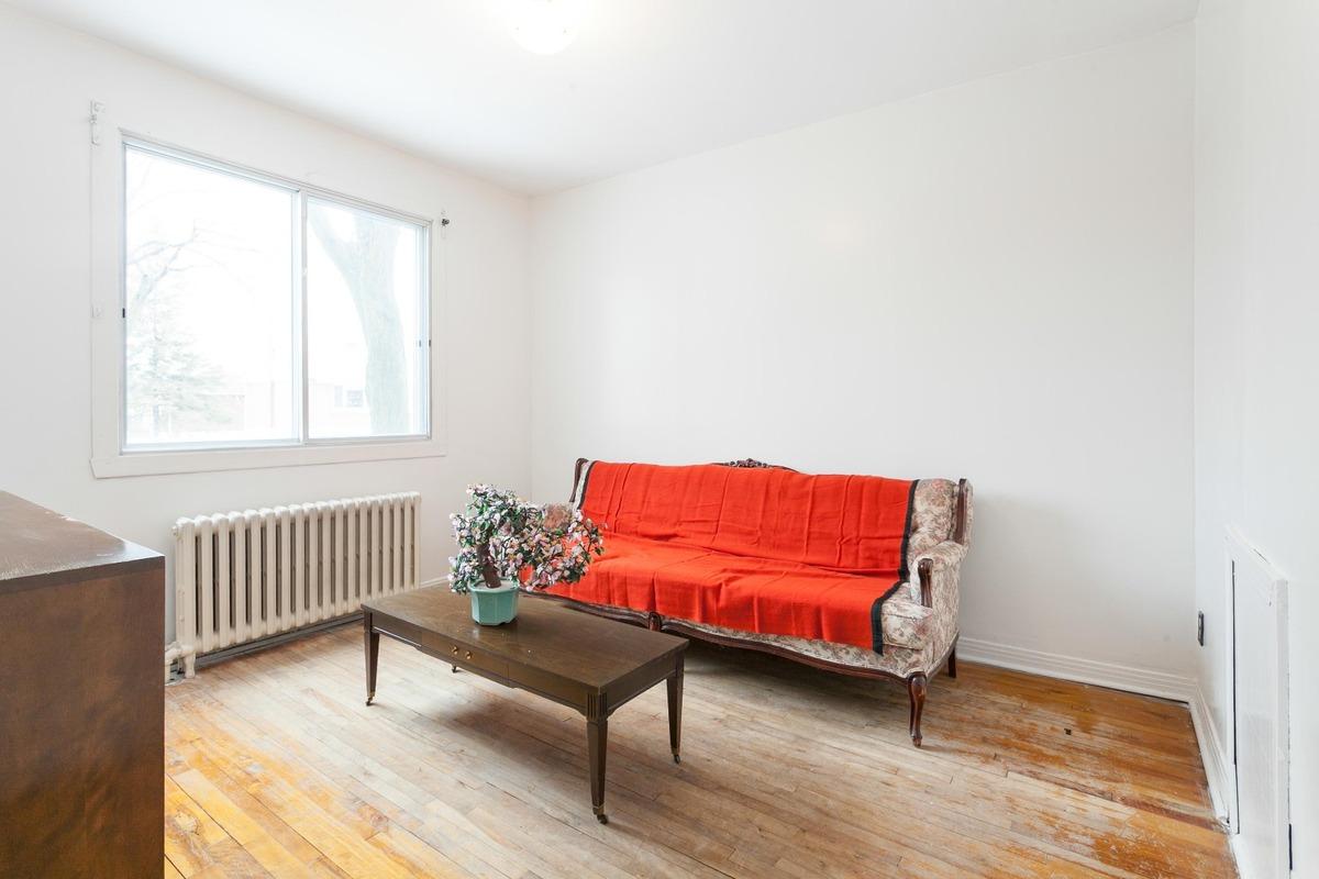 salon - Duplex à vendre Montréal Rosemont / La Petite-Patrie