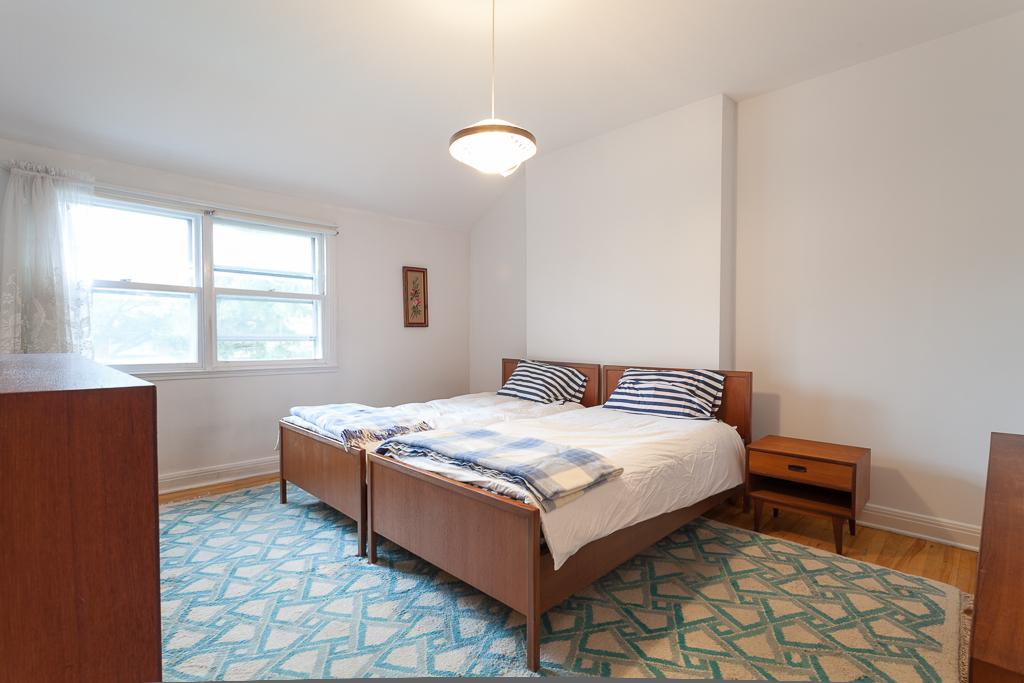 Chambre à coucher principale - Maison à vendre Ville Mont-Royal