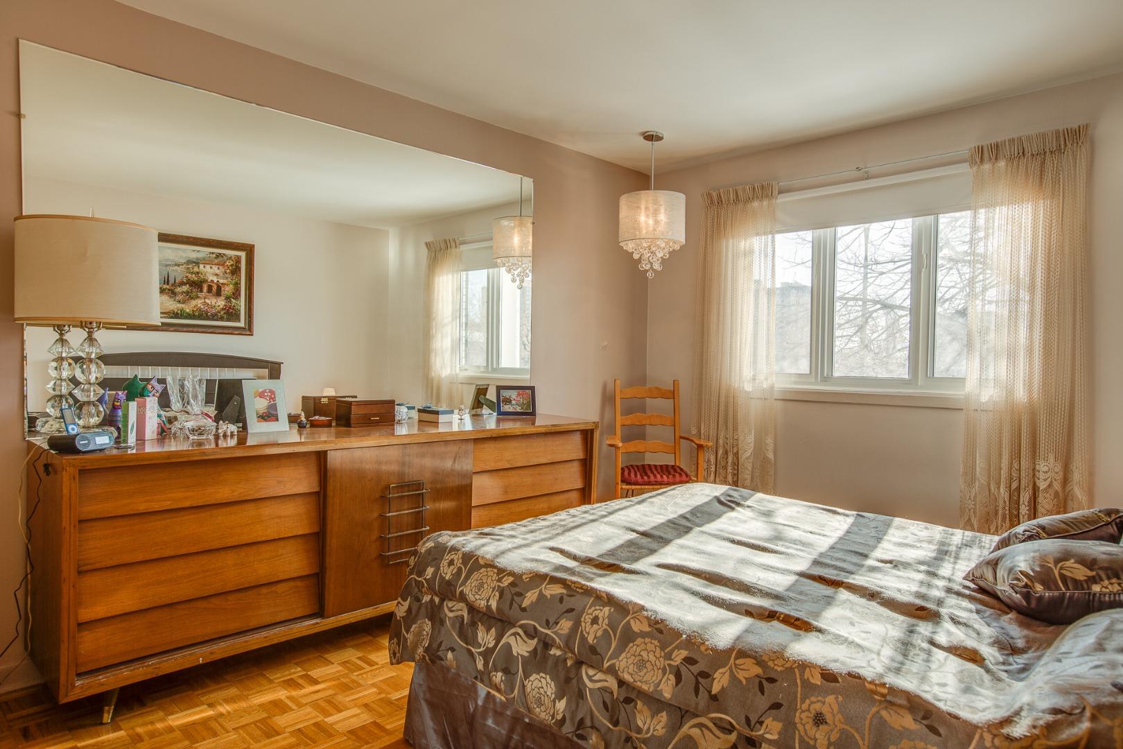 Duplex à vendre Montréal Mercier Hochelaga-Maisonneuve - Chambre à coucher principale