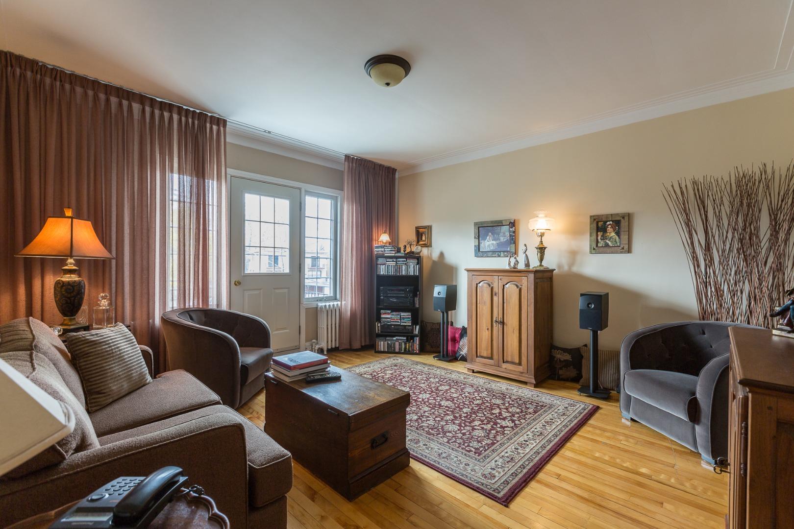 Duplex à vendre Montréal Ahuntsic-Cartierville-Nouveau Bordeaux - Salon