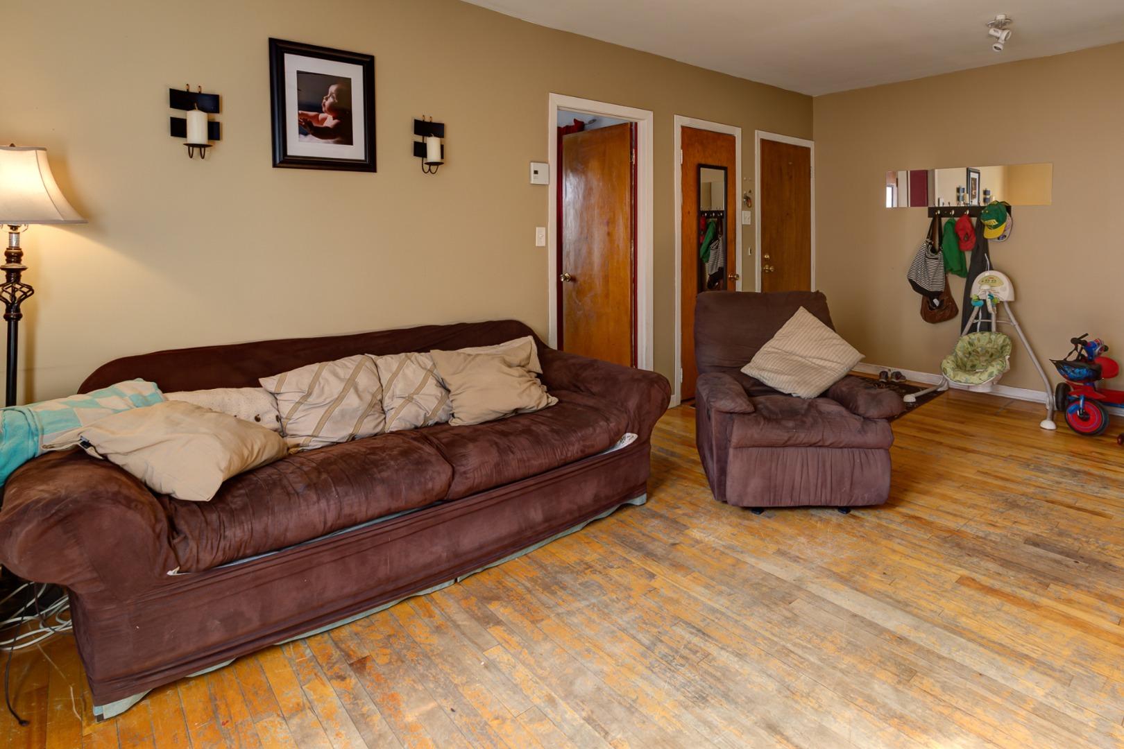 Duplex à vendre Montréal Verdun - Salon