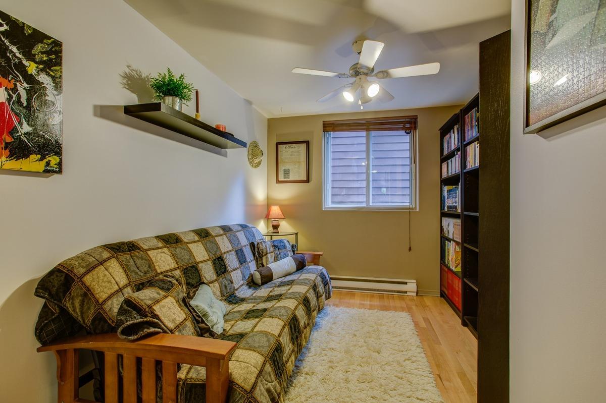 Chambre à coucher ou bureau - Condo à vendre Montréal Le Plateau Mont-Royal / Mile-end