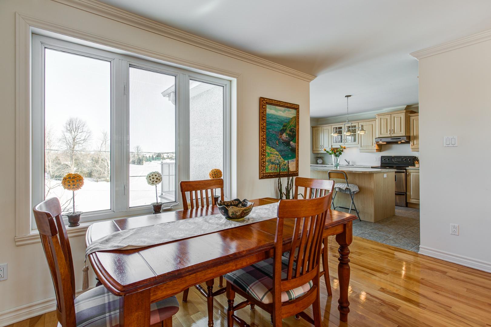Maison à vendre Laval Fabreville - Salle à manger