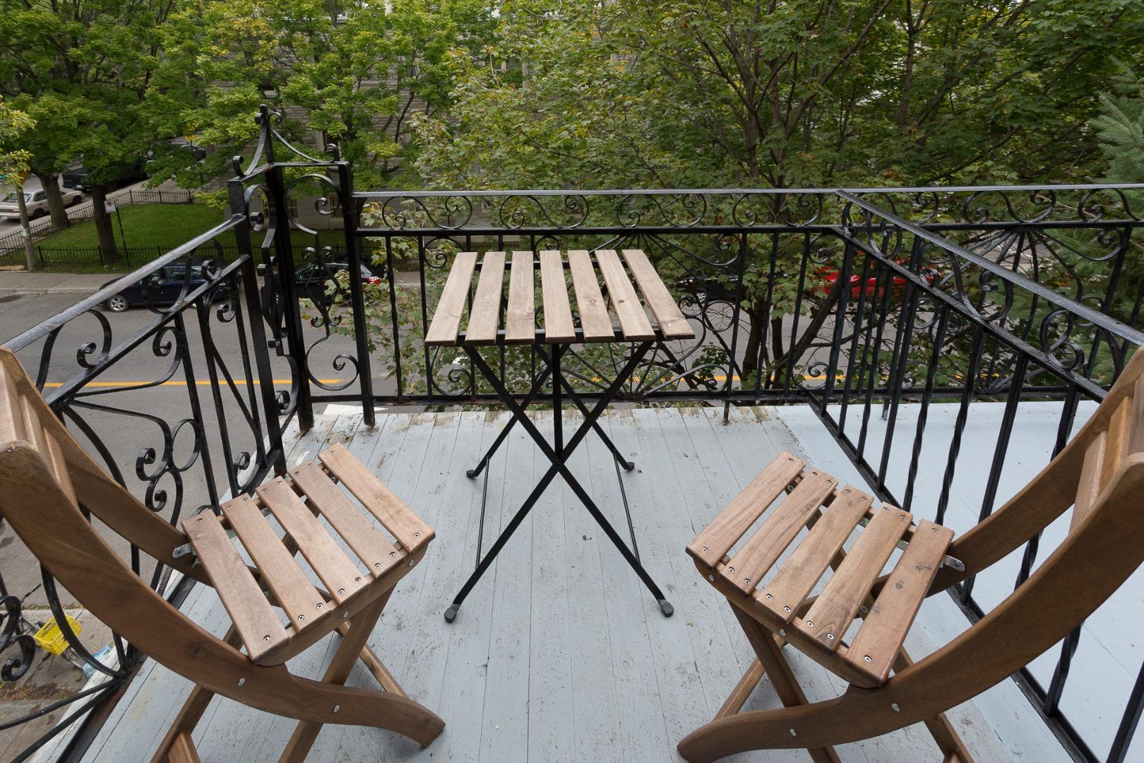 Condo à vendre Montréal Le Plateau Mont-Royal / Mile-end - Balcon