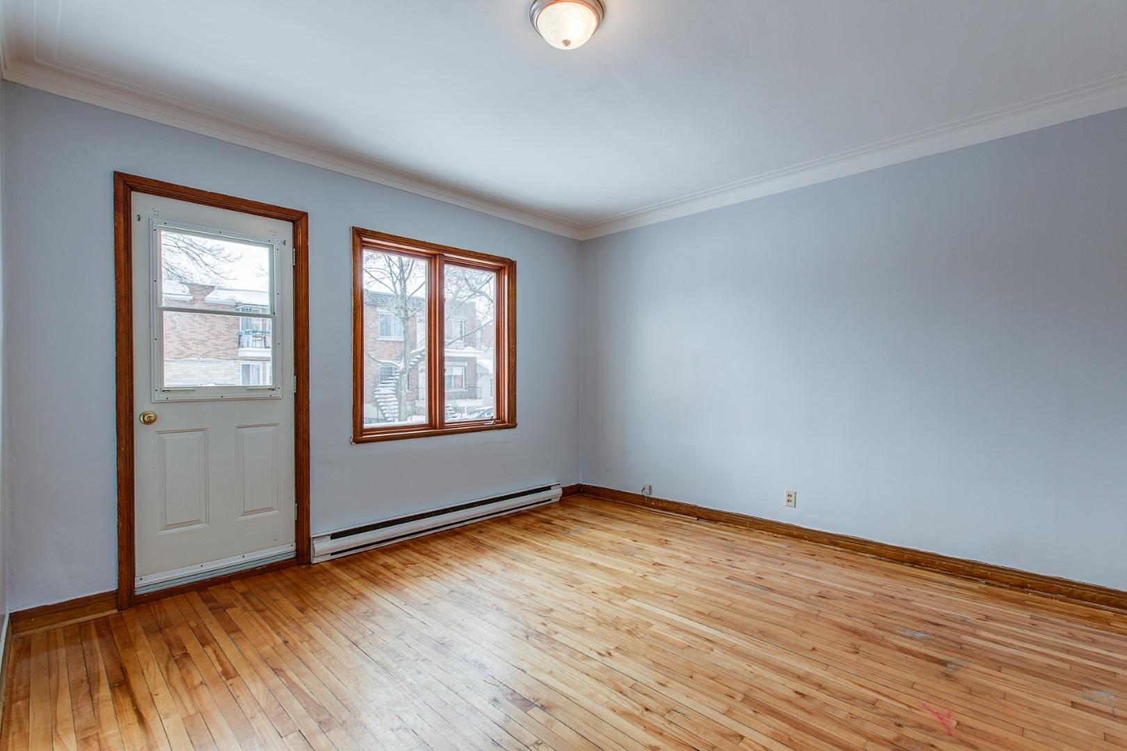 Duplex à vendre Montréal Mercier-Hochelaga-Maisonneuve - Salon