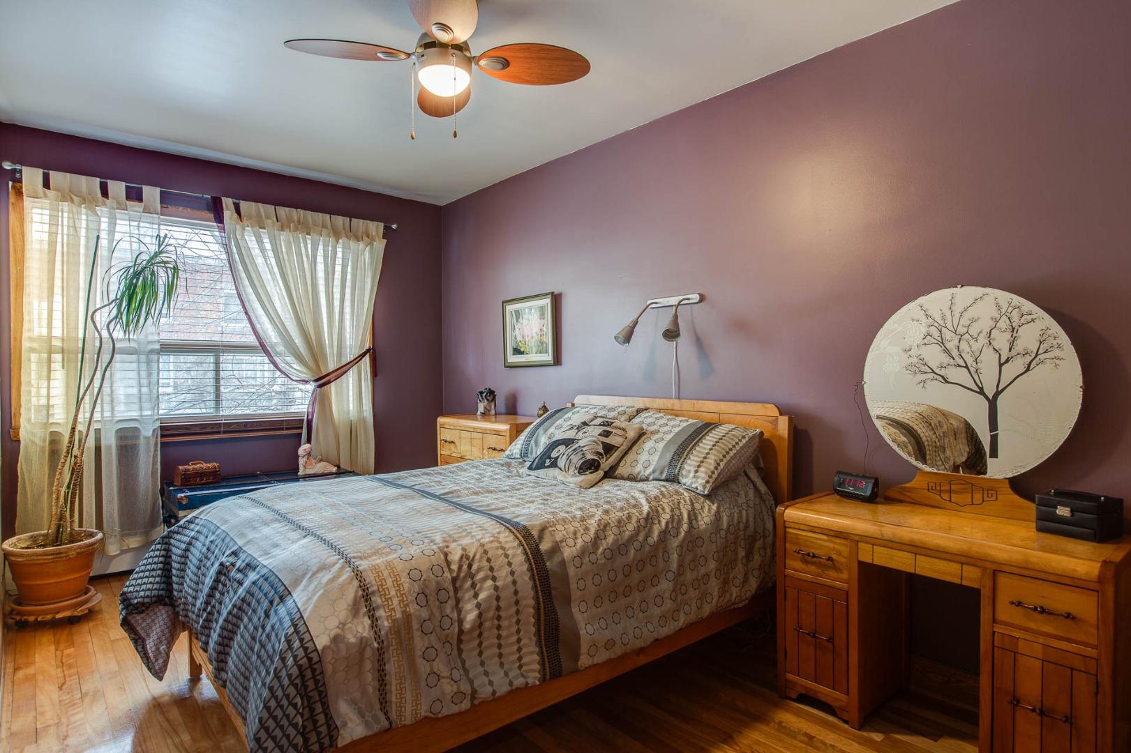 Triplex à vendre Montréal Rosemont / La Petite Patrie - Chambre à coucher principale
