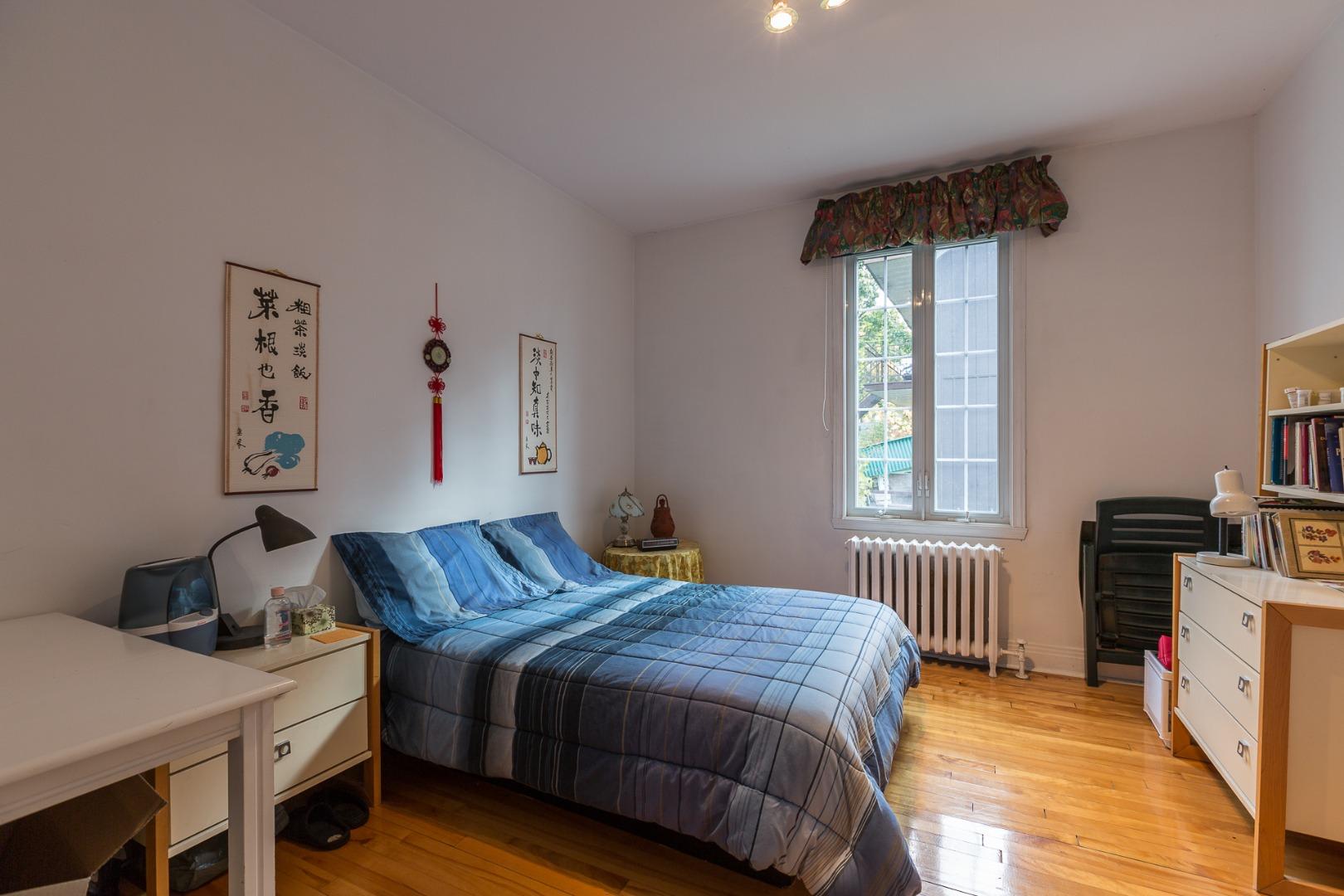Duplex à vendre Montréal Ahuntsic-Cartierville-Nouveau Bordeaux - Chambre à coucher
