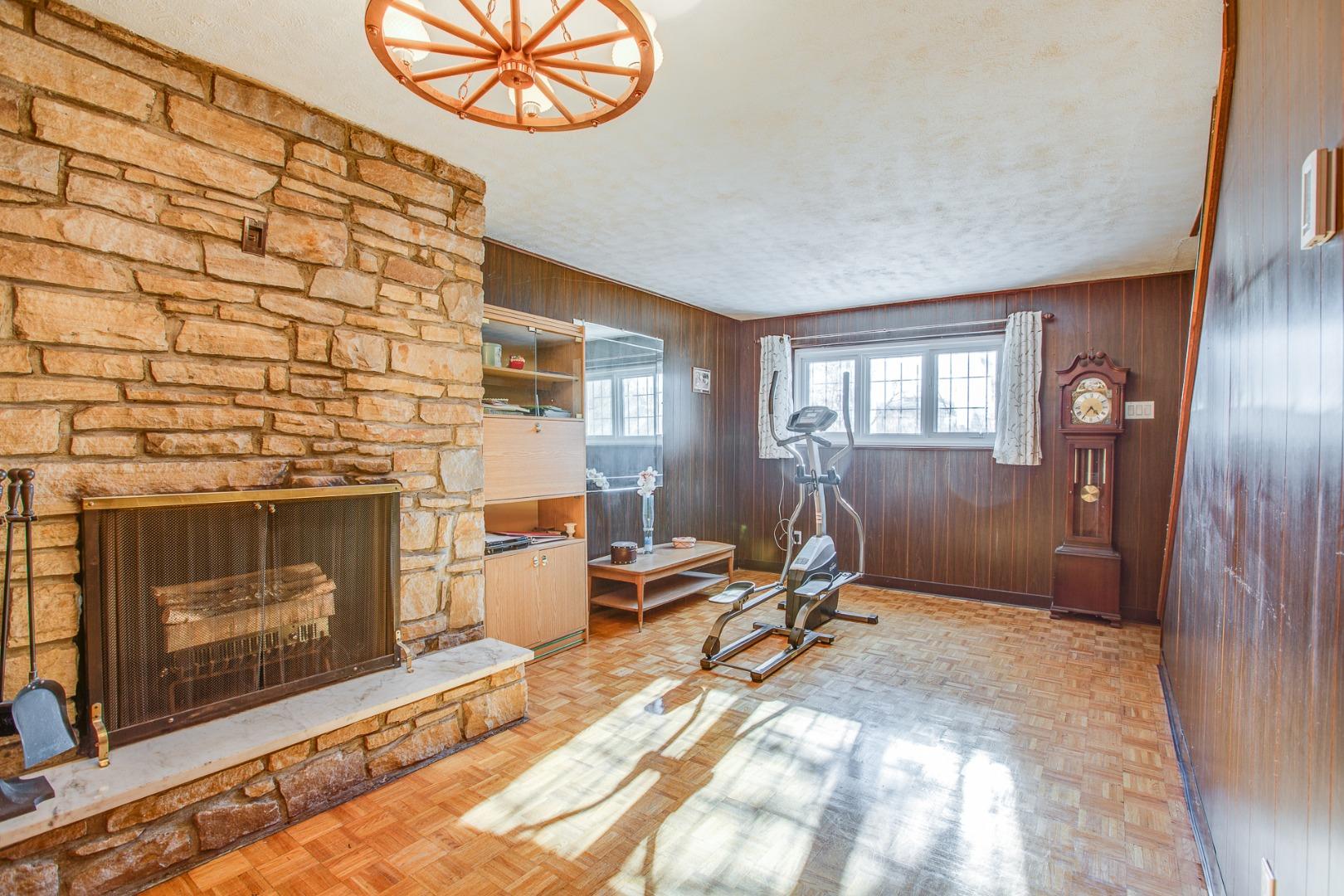 Duplex à vendre Montréal Mercier Hochelaga-Maisonneuve - Family room