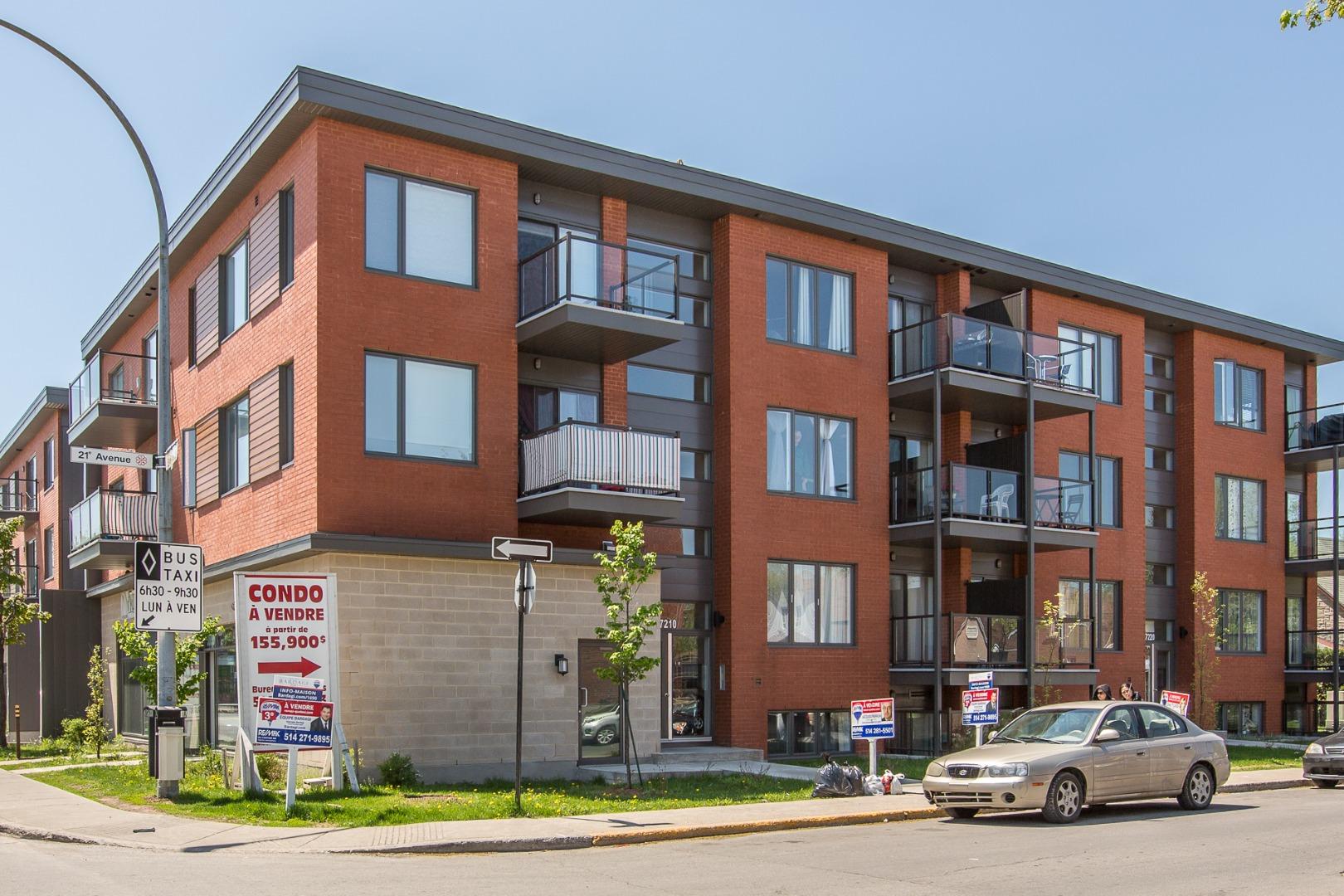 Condo à vendre Montréal - 7220, 21e Avenue