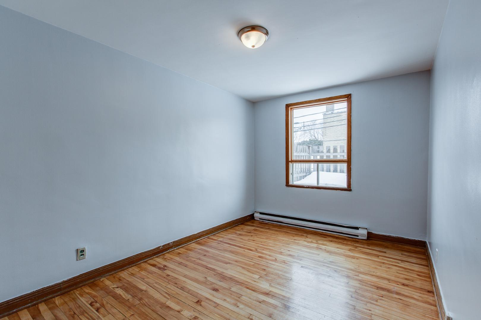 Duplex à vendre Montréal Mercier-Hochelaga-Maisonneuve - Chambre à coucher 2e niveau