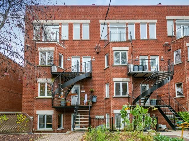 Condo à vendre Rosemont 6529 rue Cartier Montréal