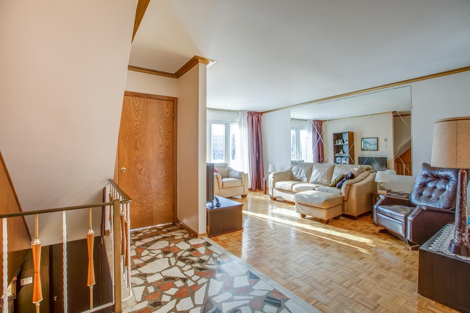 Duplex à vendre Montréal Mercier Hochelaga-Maisonneuve - Salon