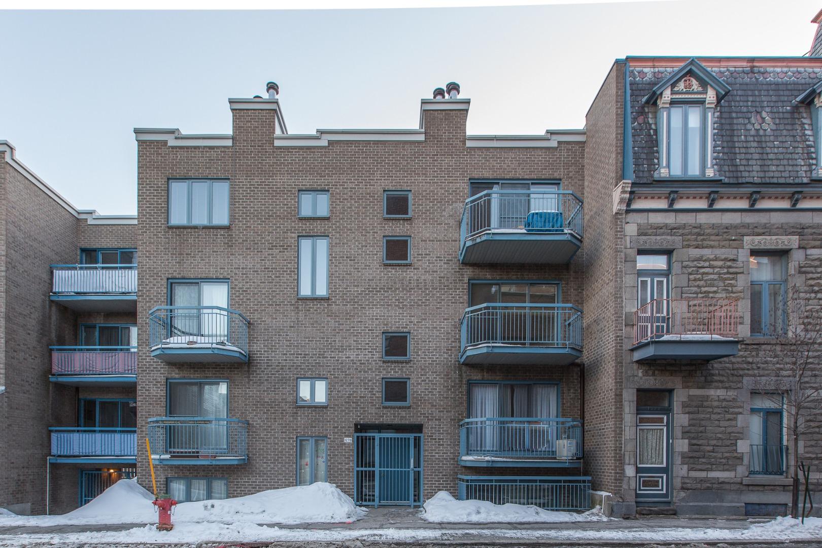 Condo à vendre Montréal Ville Marie - Façade 1270, rue St-Timothée #301