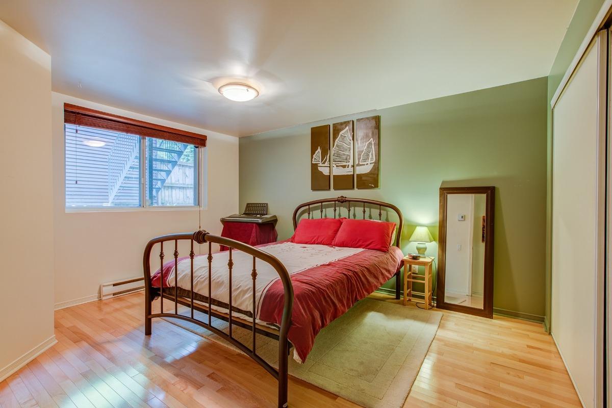 Chambre à coucher principale - Condo à vendre Montréal Le Plateau Mont-Royal / Mile-end