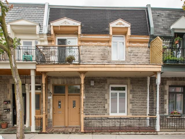 Condo à vendre Montréal Le Plateau Mont-Royal - Façade