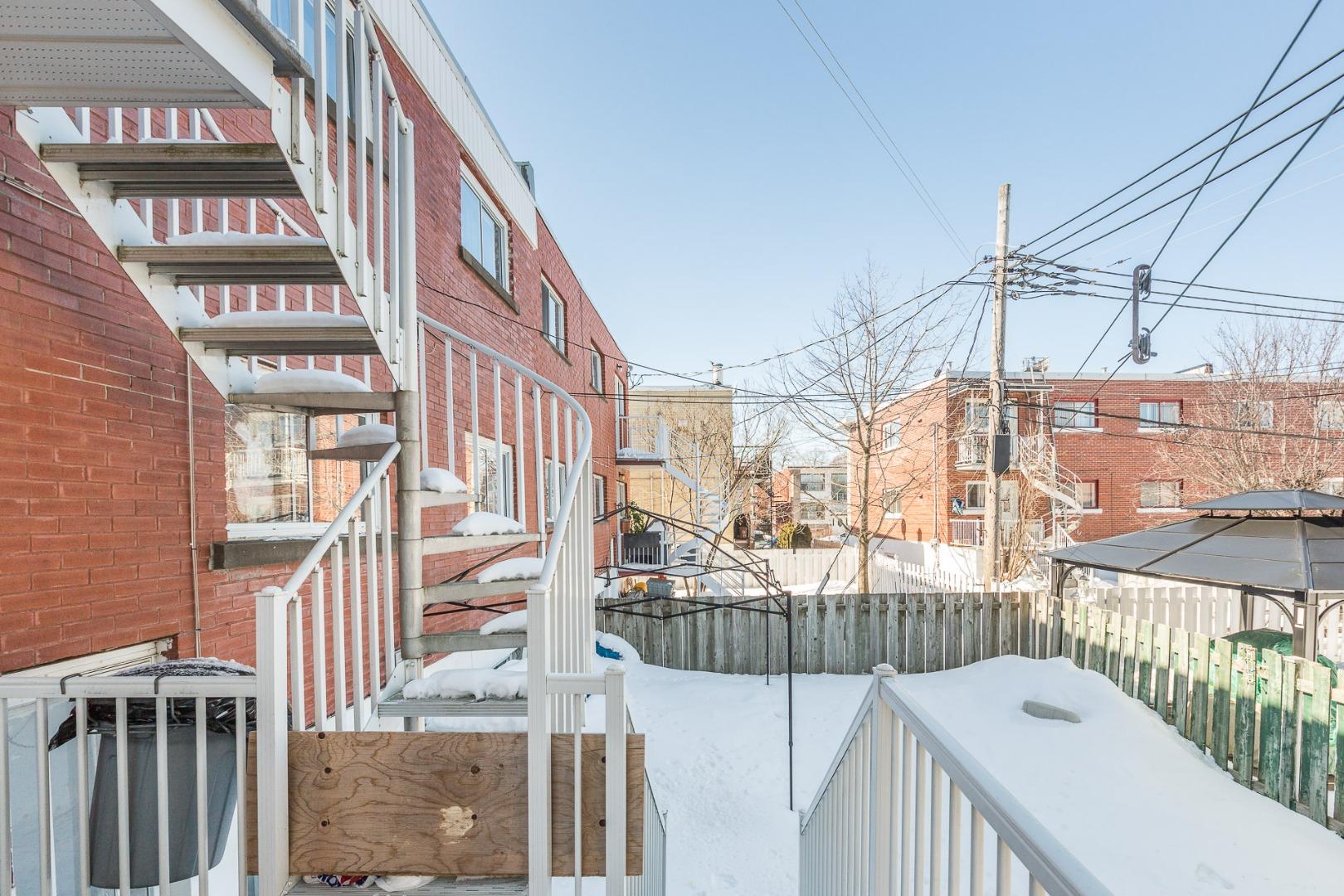Duplex à vendre Montréal - 1775-1777, Place Beauchesne