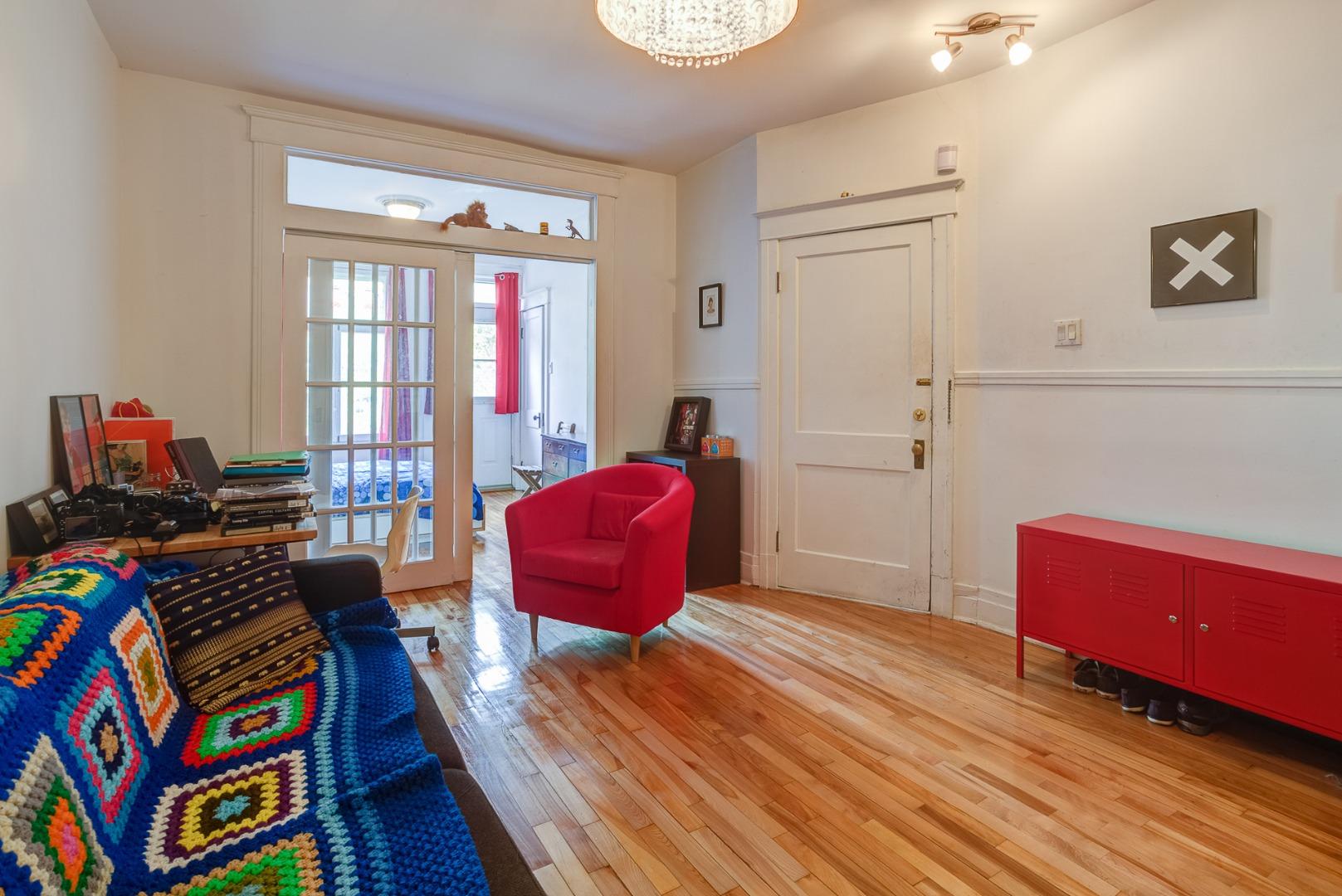 Condo à vendre Montréal Le Plateau Mont-Royal / Mile-end - Salon