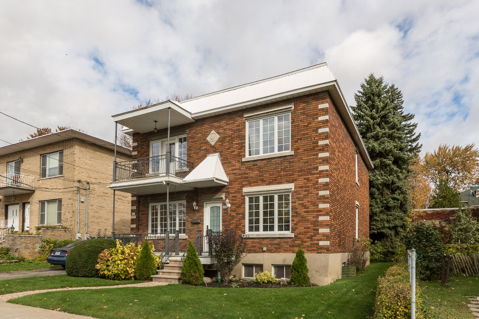 Duplex à vendre Montréal Ahuntsic-Cartierville-Nouveau Bordeaux - Façade