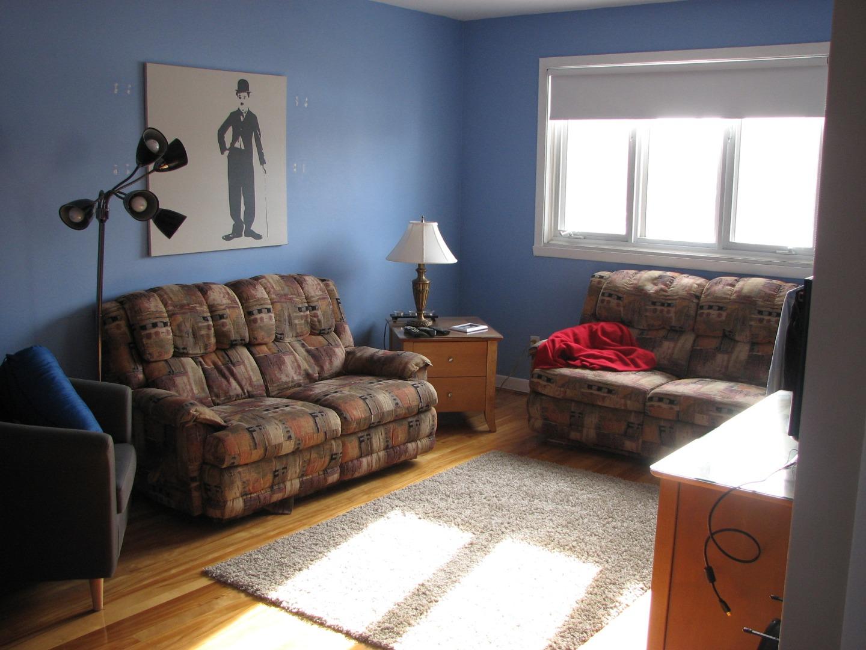 Duplex à vendre Montréal Mercier Hochelaga-Maisonneuve - Salon logement 2e étage