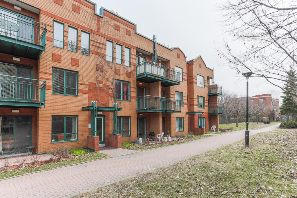 Façade - Condo à vendre Montréal Villeray