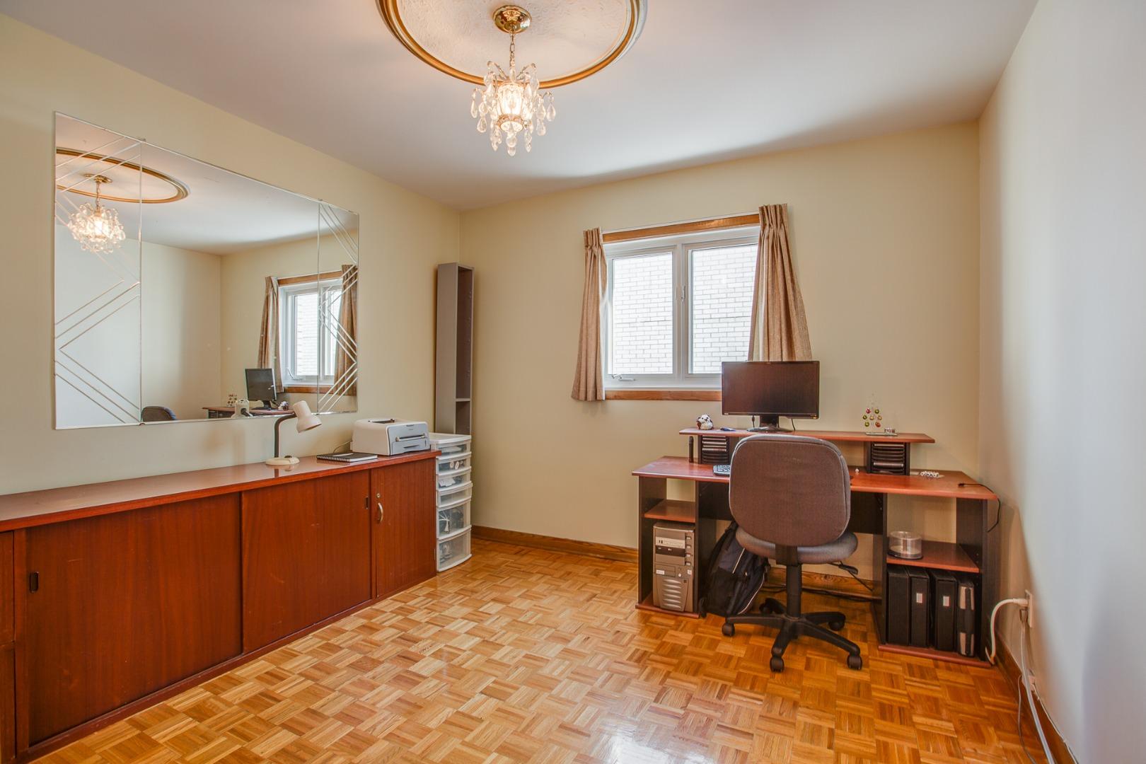 Duplex à vendre Montréal Mercier Hochelaga-Maisonneuve - Chambre à coucher