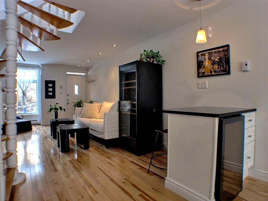 Maison à vendre Montréal Le Plateau Mont-Royal / Mile End - Salon