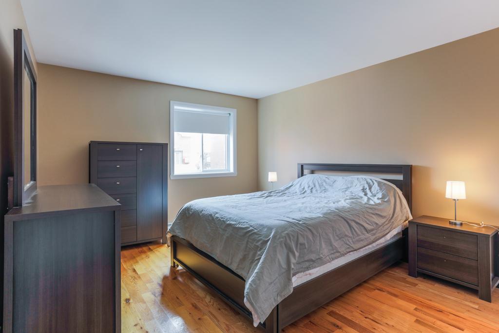 Chambre à coucher principale - Condo à vendre Montréal Villeray