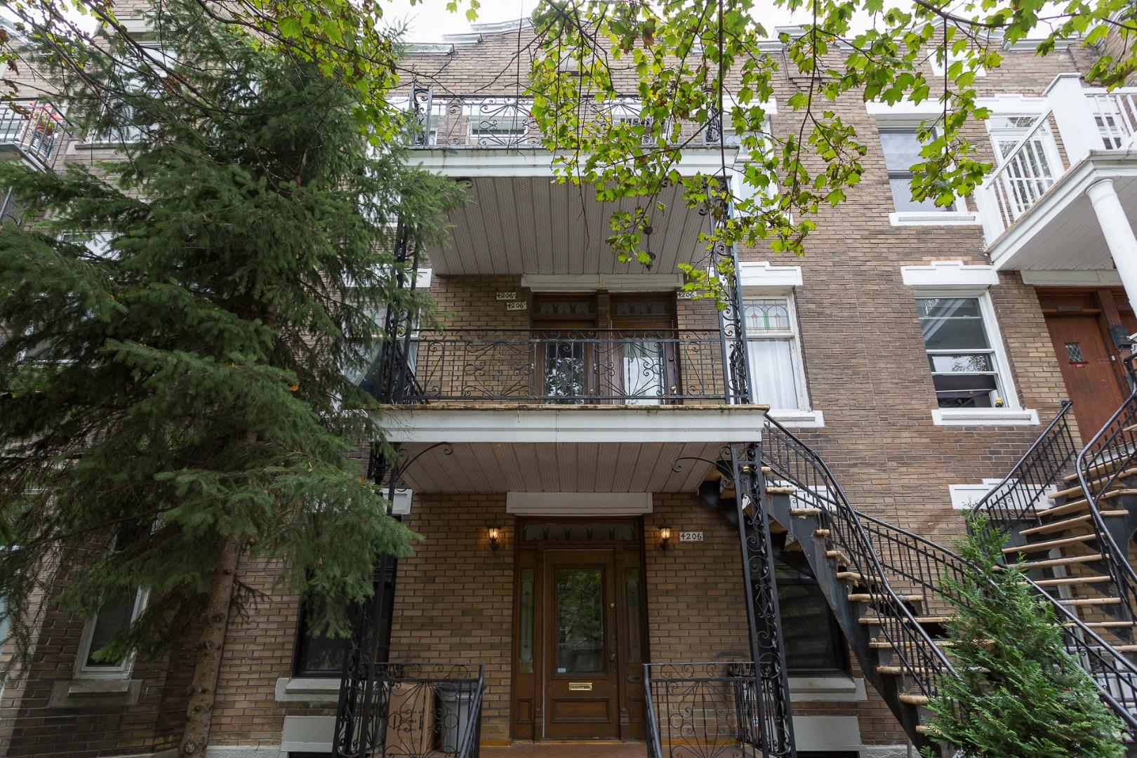 Condo à vendre Montréal Le Plateau Mont-Royal / Mile-end - Façade