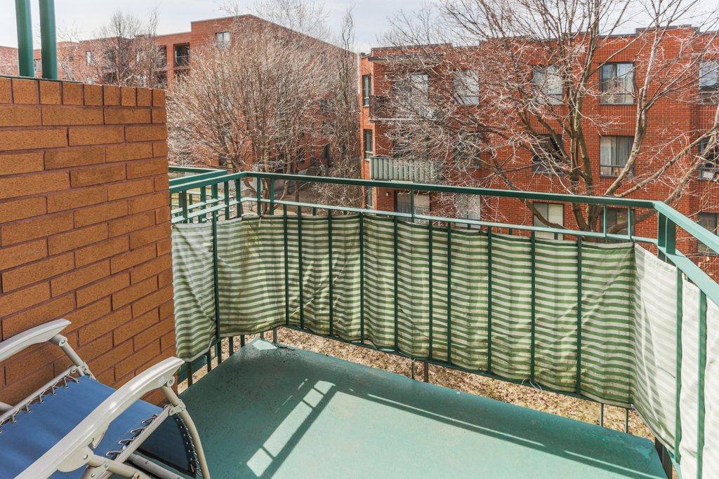 Balcon - Condo à vendre Montréal Villeray