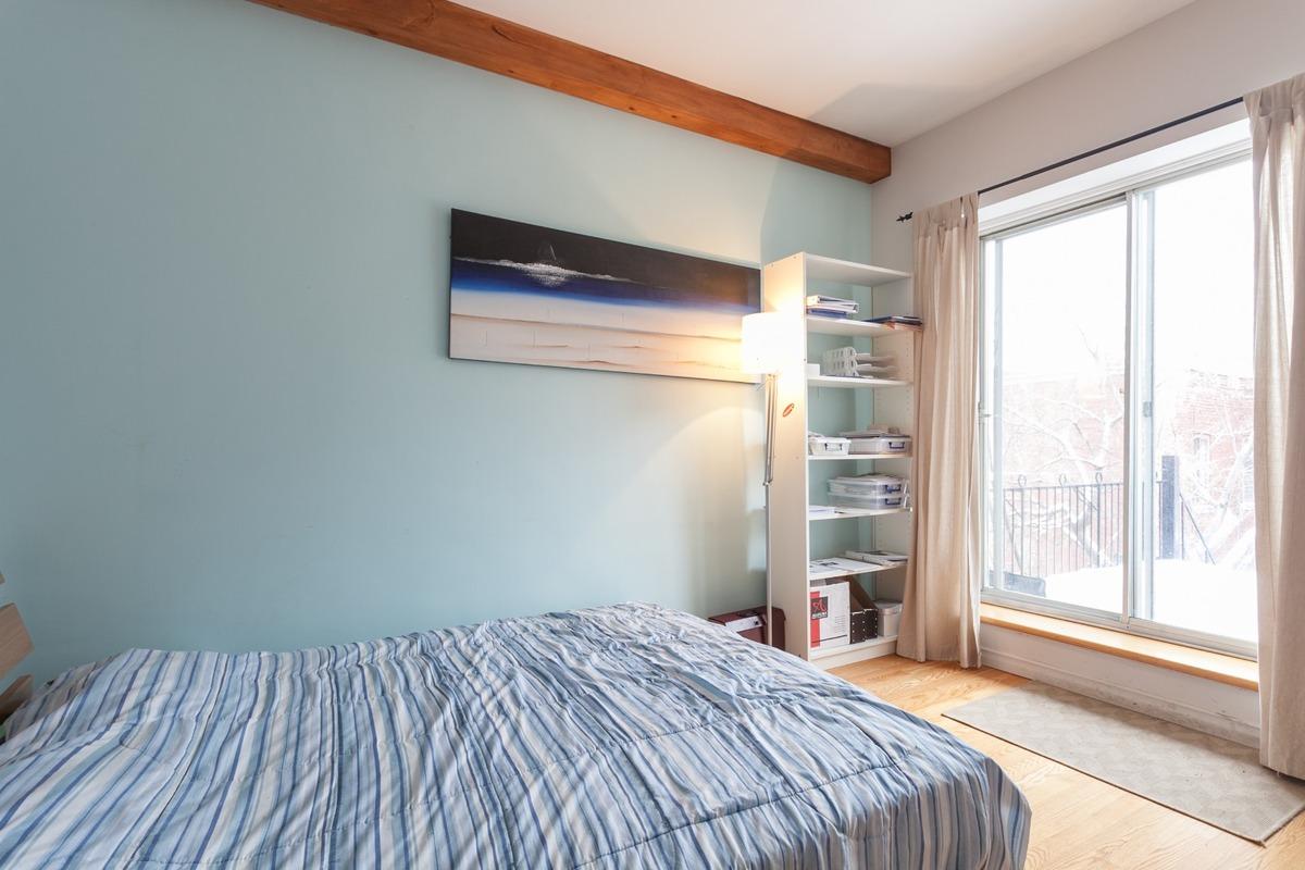 Chambre à coucher - Condo à vendre Plateau Mont-Royal