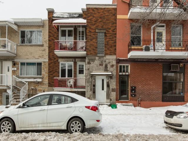 Duplex à vendre Montréal Mercier-Hochelaga-Maisonneuve - Façade