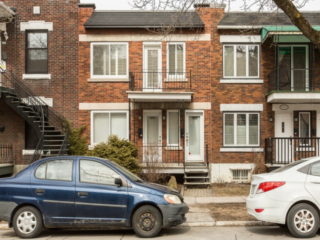 Duplex à vendre Montréal Villeray 7055 rue Sagard